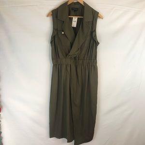 Lane Bryant Sleeveless Dress Safari Style Sz 14